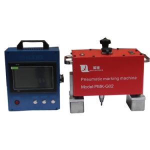 自由な出荷販売のための空気CNCの点の金槌の先のマーキング機械