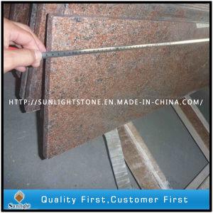 De opgepoetste Countertops van de Steen van het Graniet van India Veelkleurige Rode/Plakken/Tegels van de Vloer
