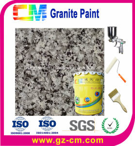 La preuve d'UV résistant aux intempéries extérieur peinture en aérosol de granit