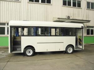 電気バス、20のシート、空港電気SUツーリスト、乗客都市バス、小型小さい20のシート、都市バス、小型小さい、観光バスの電気シャトルバス