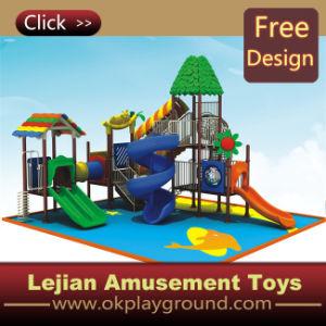 CE Creative Design Adapté aux enfants plastique en plein air Aire de jeux pour le parc (12095A)