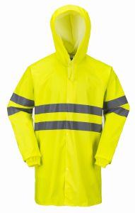 Sicurezza dell'unità di elaborazione di OEM/Custom che copre il cappotto riflettente pioggia/di Rainsuit