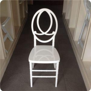 빨간 시트 패드를 가진 합성 수지 피닉스 백색 의자