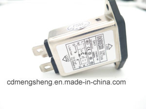 Универсальный фильтр линии питания разъем IEC