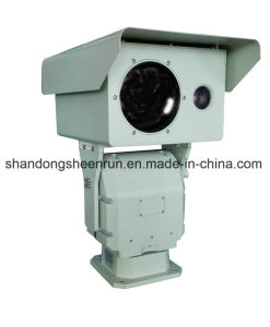 HD IP de Dubbele Camera PTZ van de Sensor Thermal+Optic