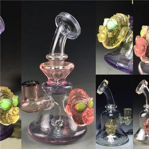 El vidrio caliente Bontek artesanía fumar pipa de agua con el tazón de vidrio.