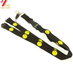 Oferta de poliéster de alta calidad Lanyards/Cordón con logotipo personalizado (YB-l-021)