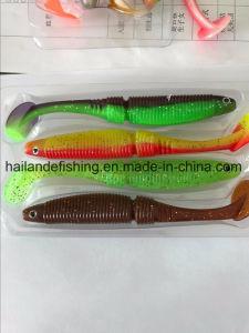 새로운 디자인 고품질 어업 유혹 12.5cm 연약한 유혹 낚시 도구