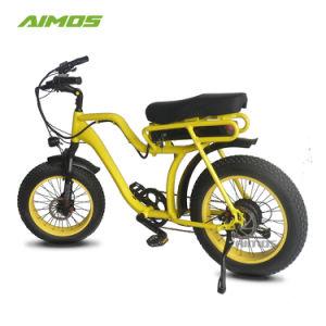 AMS-Tde-07 nuevo modelo de bicicleta eléctrica con asiento de moto