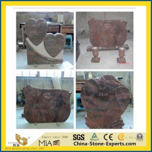 De zwarte/Grijze/Rode/Blauwe/Groene/Purpere/Witte Grafsteen van het Graniet/van het Marmer/van het Gedenkteken/van de Begraafplaats/van de Tuin met Engel (Europese/Amerikaanse/Chinese/Japanse/Russische Stytle)