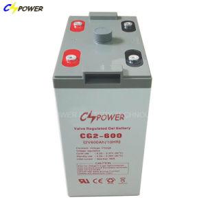 2V3000ah zonnepaneel/de Bank van de Macht van de Batterij van het Gel Telecom/UPS