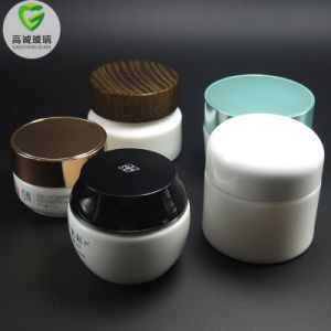 خزي بيضاء مصغّرة [20-50غ] مستحضر تجميل وعاء صندوق قشرة مرطبان