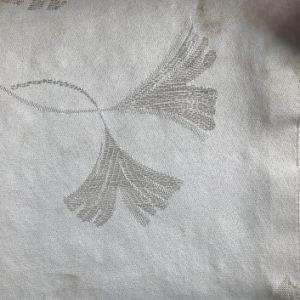 Colchones de patrón de hojas de tejido jacquard tejidos para la Frontera