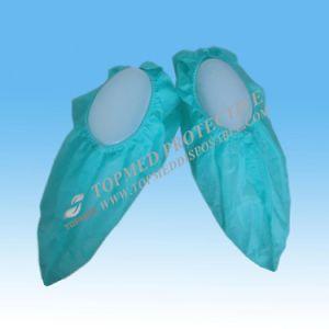 Wegwerf-CPE-Schuh-Deckel maschinell hergestellt für Reinigungs-Raum