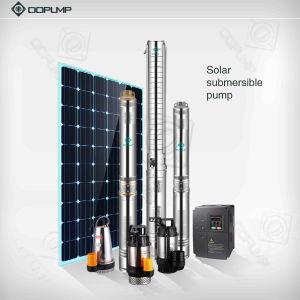 Acero inoxidable de alta elevación de la bomba sumergible bomba solar CA