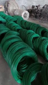 500kg de peso do rolo de arame de aço revestido de PVC