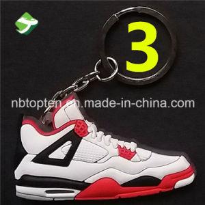 جديدة [أج] 4 [رترو] ليّنة مطّاطة حذاء رياضة حذاء [كي شين] معدن [كي رينغ]