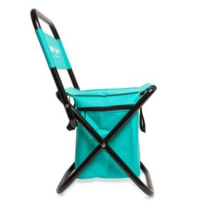 Mini Portable Chaise Pliante De Plein Air Avec Refroidisseur Pour Pique Niques La Randonne Pdestre