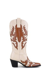 Le design de mode Cowgirl Floral Boot