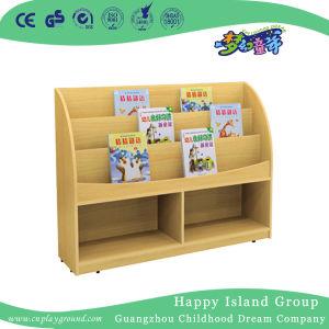 boekenkast van de kinderen van de kleuterschool de stevige houten hg 4705