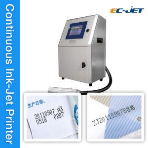 Código de lote de la pantalla táctil continua de la máquina de impresión Impresoras Ink-Jet (CE-JET1000)