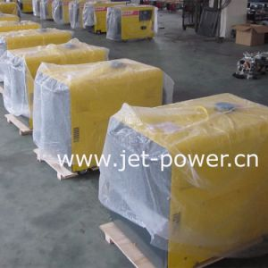 小さい空気によって冷却されるディーゼル発電機5kw 6kw 7kwの海兵隊員の発電機