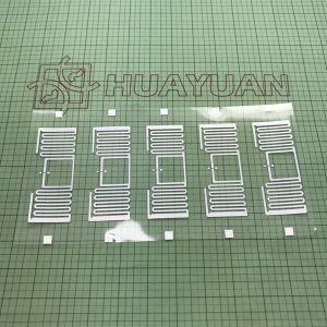 의복 걸림새 꼬리표를 위한 HUAYUAN 860-960MHz UCODE 8 UHF RFID 상감세공