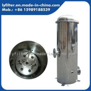 飲料水の浄化の機密保護フィルターステンレス鋼ハウジング