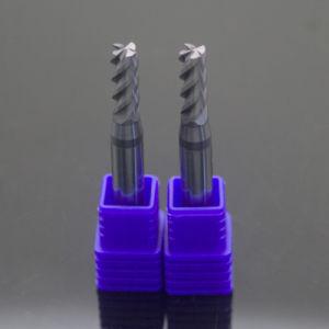 HRC55 4-Flute Zoll-Größen-passten feste Karbid-Enden-Tausendstel erhältliches an