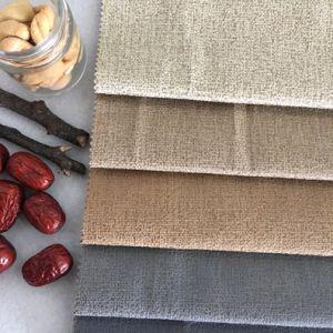 Hilo de plata brillante de tejido de poliéster para el sofá de terciopelo