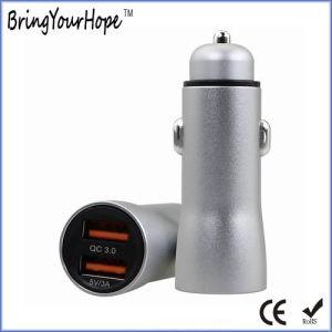 QC 3.0 быстрая зарядка автомобиля зарядное устройство USB с 3A (XH-UC-054)