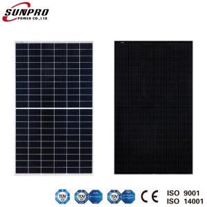Sunpro de alta potencia de alimentación 9bb la mitad de corte 340W Mono Módulo PV panel PV Módulo Solar Panel Solar