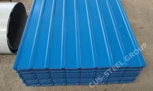 0,47 mm du panneau de toiture en métal prépeint/plaque en acier de couleur pour l'Afrique