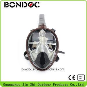 Einfache Atemsnorkel-Schablonen-volles Gesichtsnorkel-Schablone (JS-7016A)