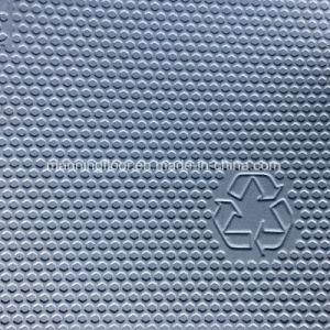Zachte BinnenVloer van uitstekende kwaliteit 6.5mm van de Sporten van het Meer Blauwe Multifunctionele Vinyl