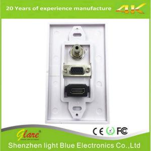 86 Typ HDMI VGA-Wand-Platte für Audio/Video