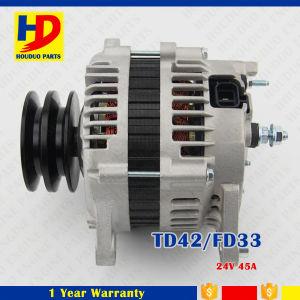 Td42/Fd33 de Alternator van de Uitrusting van de Motor voor Nissan