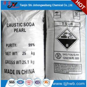 De Parels van de Bijtende Soda van 99% voor het Maken van Zeep en Detergens