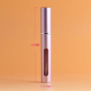 2017 Venta caliente Spray Perfume recargables cosméticos de lujo la botella de cristal