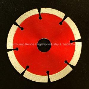 108 mm de diámetro, tipo de corte en seco el segmento de la hoja de sierra de diamante para todas las piedras