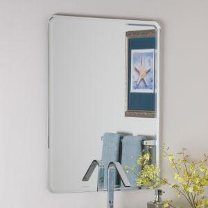 3-6mm de sécurité en aluminium/cuivre/argent gratuit Salle de bains Miroir de courtoisie pour Bevel Edge