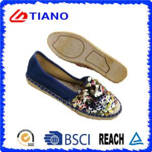 Señora brillante Shoes (TN36706) de las alpargatas planas y cómodas de la manera