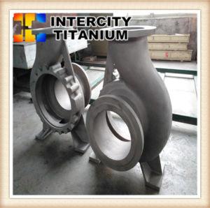 中国のチタニウムポンプ、チタニウムのインペラーのためのチタニウムによって失われるワックスの鋳造