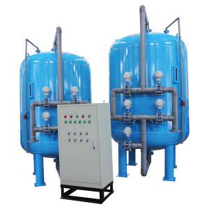O sistema de circulação de água no filtro de água de mídia de Areia Automático (YL-MF-500)