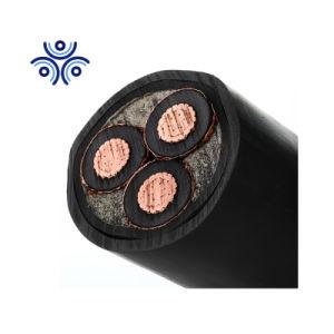 Energía eléctrica 3.8/6.6kv 6.35/11kv 12.7/22kv 19/33kv de cable metro