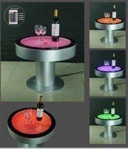LED красочный купол кофейный столик под руководством купол функция мебель