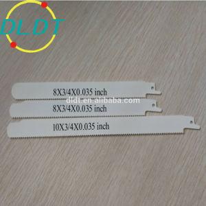 8 de alta qualidade 10M42 Bimetal tpi lâminas de serra prego de corte de madeira vazios
