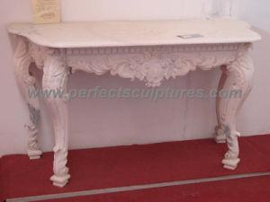 Antique Decoration (QTB037)のための庭Stone Marble Table