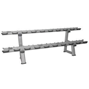 Cremagliera-Doppia forma fisica libera della strumentazione di ginnastica della cremagliera di potere del Barbell del peso di Dumbbell