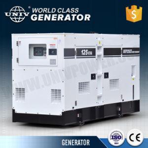 無声タイプ防音の電気ディーゼル発電機100kVA 80kw